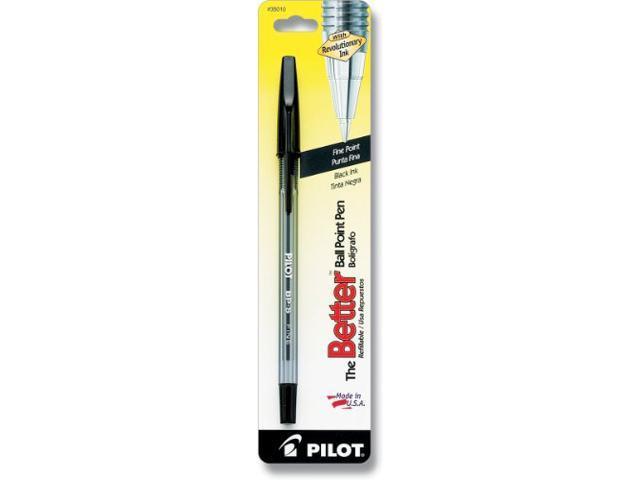 Pilot Pen Corporation BBPSFBK Fine Ball Point Pen - Black Ink