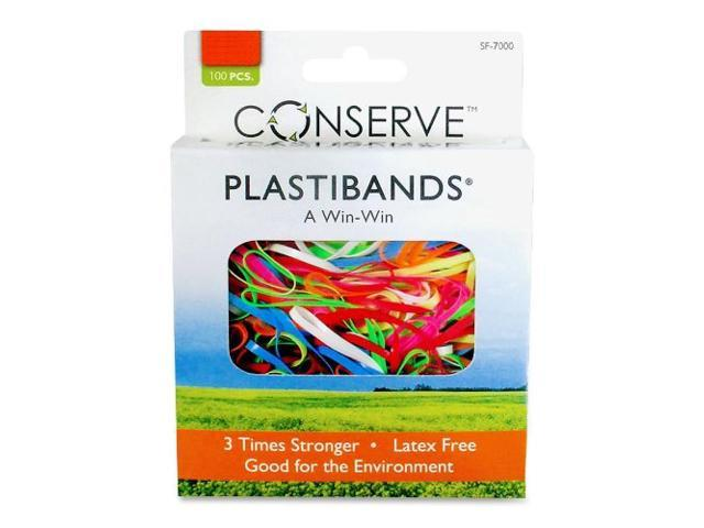PlastiBands Assorted Sizes 200/BX Assorted
