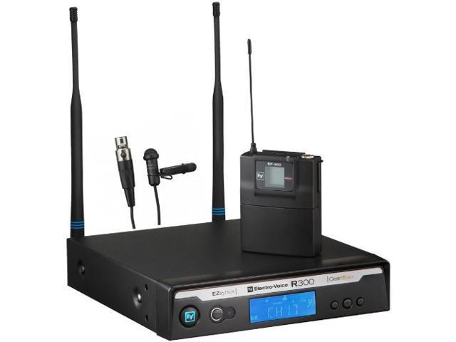 EV Electro Voice R300-L-A Wireless Lapel/Lav Microphone System R300L A-Band