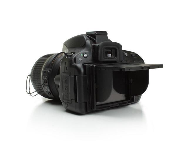 "ENHANCE Universal 3"" LCD Hood w/ Pop-Up Sun Shade & Screen Protector for Nikon 1 J3, 1 S1, 1 J2, 1 V2, 1 J1, 1 V1 & More ..."