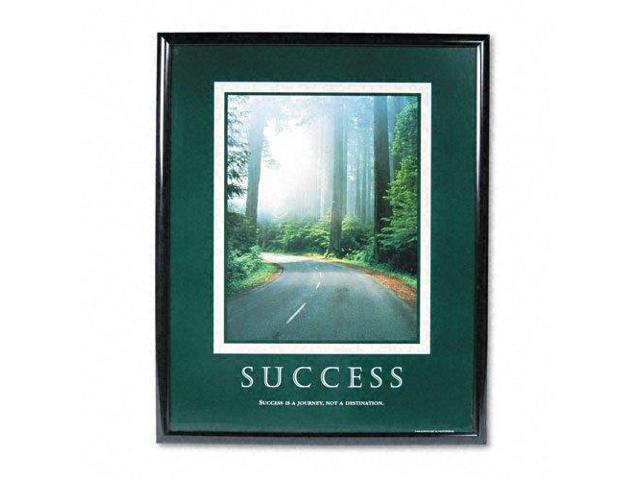 Advantus Corp. AVT78004 Success Poster- 24in.x30in.- Black Frame