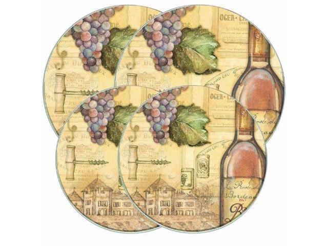 Range Kleen 5062 Round Burner Kovers (tuscany Wine)