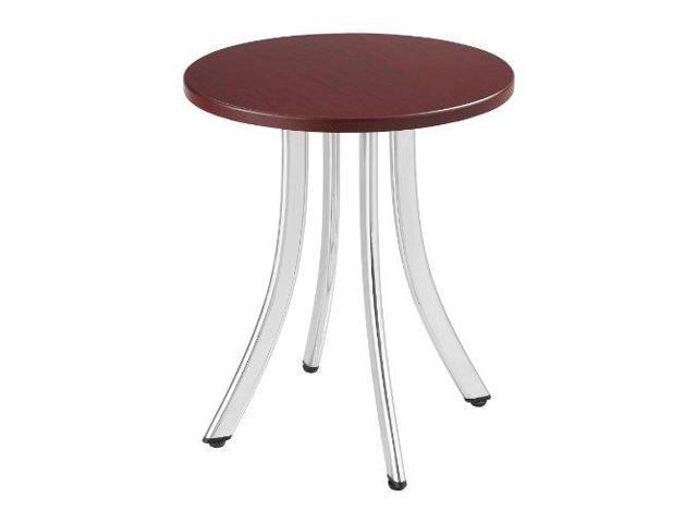 Safco Decori Wood Side Table, Round, 15-3/4