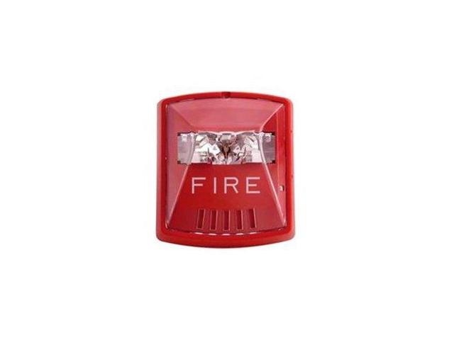 STROBE RED 2W WALL 12/24V M-CD