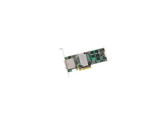 LSI MegaRAID SATA/SAS 9280-8e 6Gb/s PCI-Express 2.0 w/ 512MB onboard memory RAID Controller Card, Single--Avago Technologies