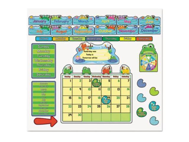 Calendar May Sia : Funky frog calendar bulletin board set newegg