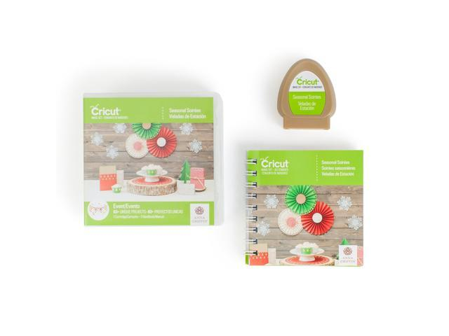 Cricut Mini Seasonal Shape Cartridge-Seasonal Soriees By Anna Griffin