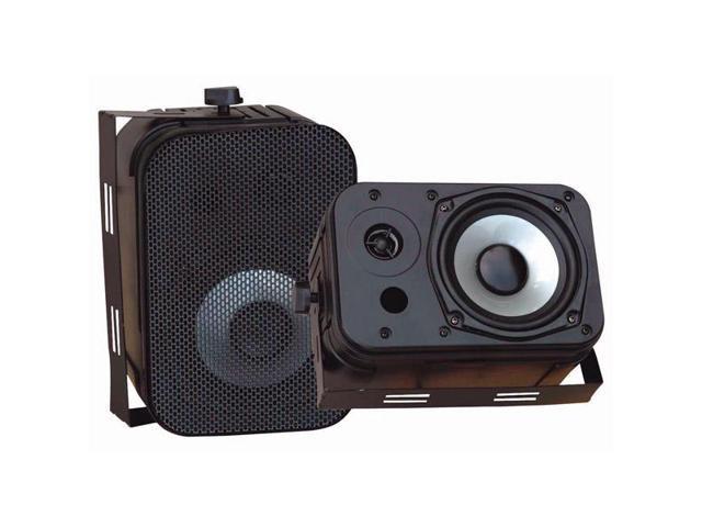 Pyle Pdwr40b 5.25 Indoor/outdoor Waterproof Speakers (black)