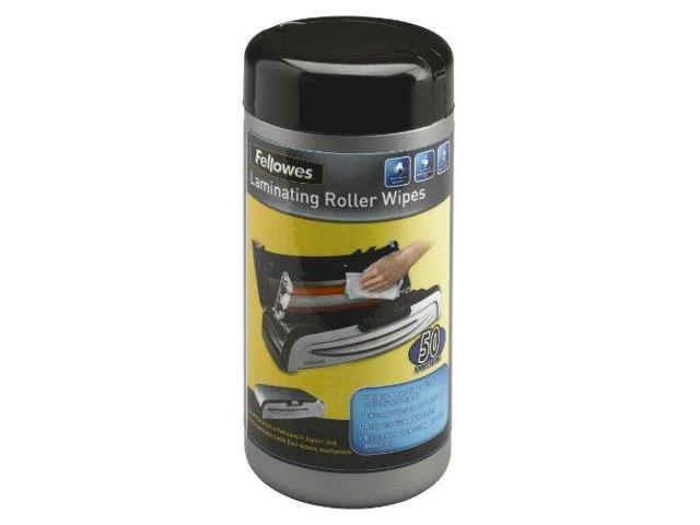 Fellowes 5703701 Laminating Roller Wipes, For Jupiter & Venus Laminators, 50/Pack