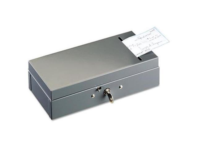 STEELMASTER by MMF Industries 221104201 Steel Bond Box with Check Slot, Disc Lock, Gray