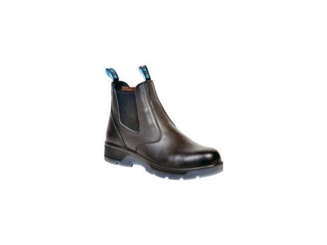 Black 6 inch slip on Composite Toe Safety boot