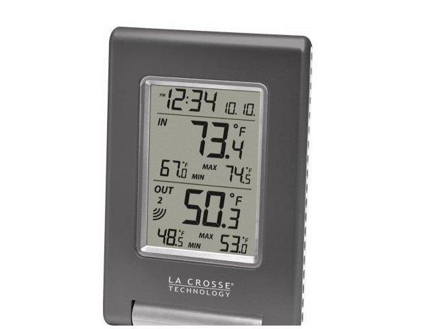 LA CROSSE TECHNOLOGY WS-9080U-IT-CBP Wireless Temperature Station
