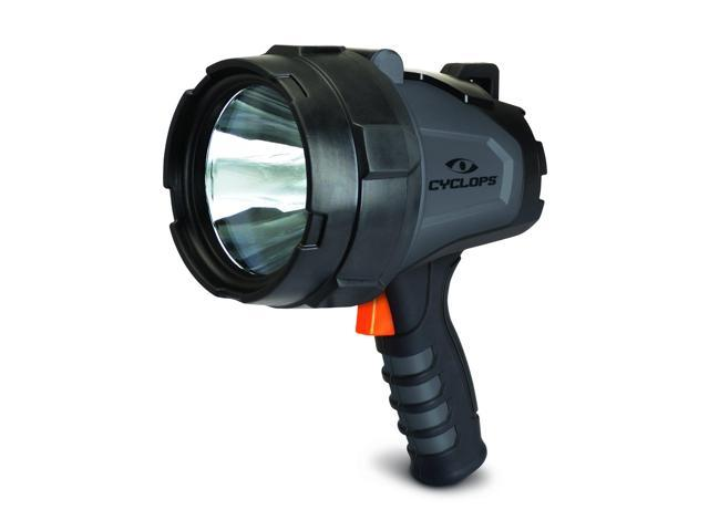 Cyclops 580 Lumen Handheld Rechargeable Spotlight-Black