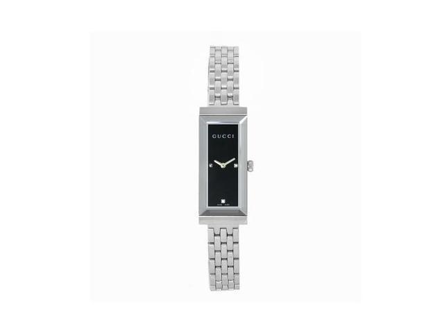 Gucci G-Frame Diamond Dial Bracelet Watch YA127504