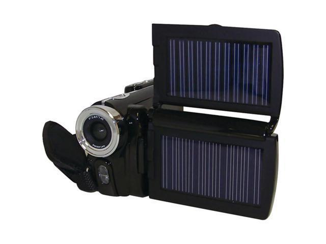 Solar dual panel HD camcorder D1 video (CBD-HDVC6000)