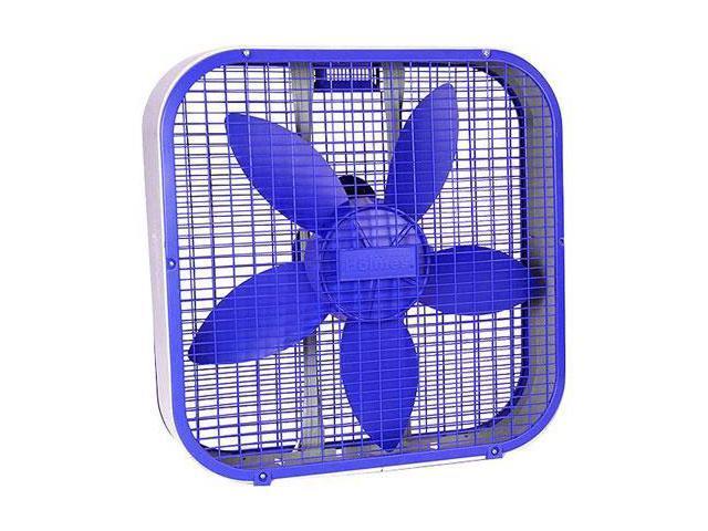 """Holmes 20"""""""""""""""" Box Fan-Blue"""
