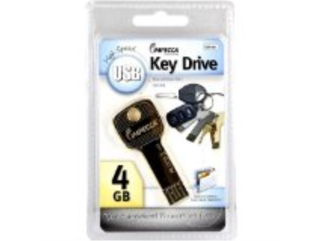 Impecca 4GB USB Key Drive - Gold