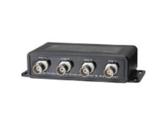 Video Balun 4 x BNC-F Input RJ-45 or Push Terminal Output