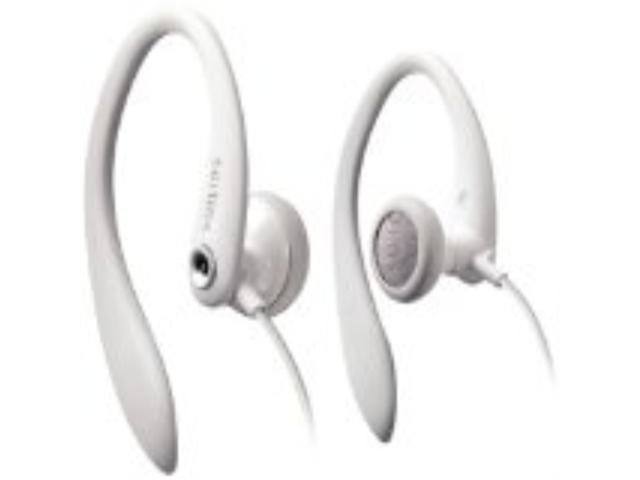 Philips Flexible Earhook Headphones SHS3201/28 (White) (replaces SHS3201/37)