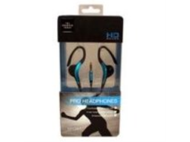 The Sharper Image SHP1102 Sports Headset - Retail Packaging - Blue