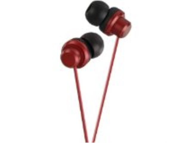 JVC HAFX8R RIPTIDZ Inner-Ear Headphones (Red) -by-JVC