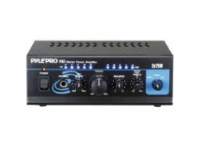Pyle Pta4 480w Professional Mini Table Top Amplifier Amp