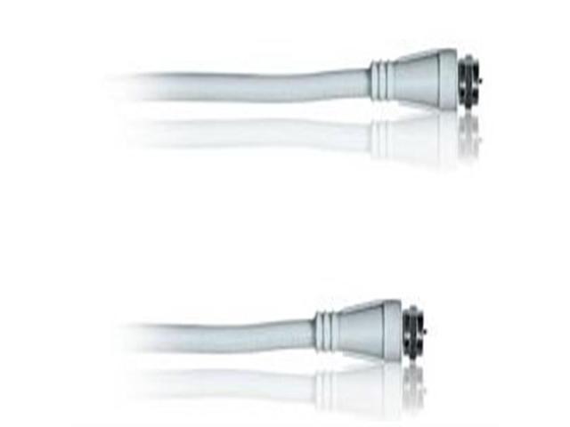 RadioShack® 8-Ft. Video Hookup Coax Cable (White)