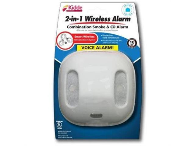 battery operated wireless interconnected combination smoke carbon monoxide alarm. Black Bedroom Furniture Sets. Home Design Ideas