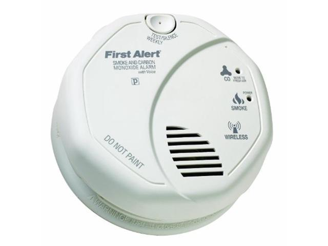 first alert olcombov smartbridge wireless interconnected smoke carbon monoxide combo alarm with. Black Bedroom Furniture Sets. Home Design Ideas