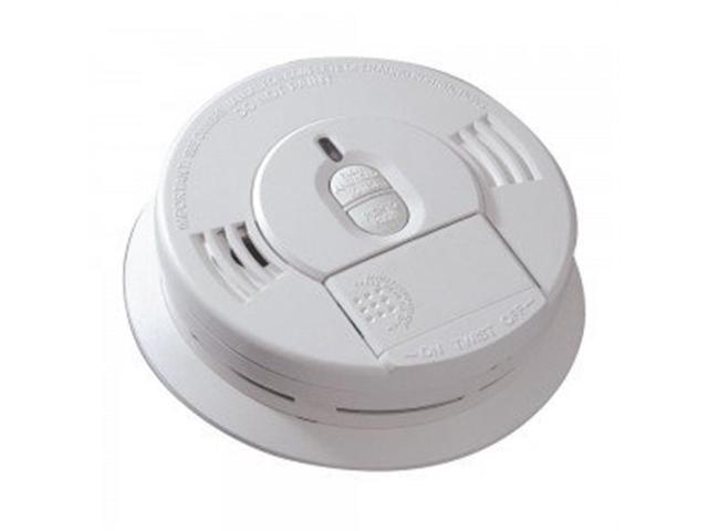 kidde i9070 smoke detector front load 9v battery powered ionization w hush b. Black Bedroom Furniture Sets. Home Design Ideas
