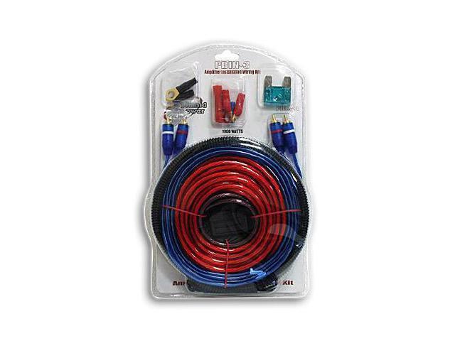 New 1000 Watt Car Amp Wiring Installation Kit 8 Gauge
