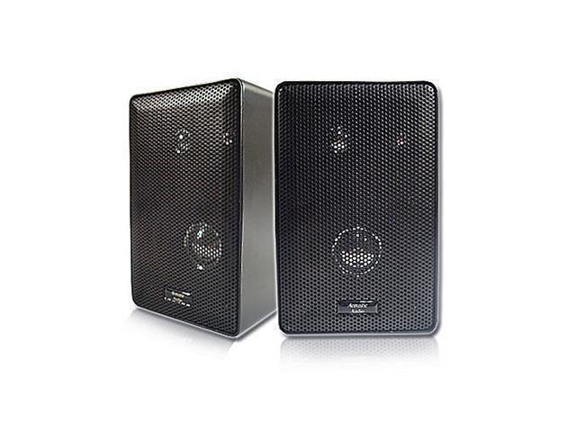 Acoustic Audio 251B 200W Indoor/Outdoor Bookshelf Surround Speakers (Pair)