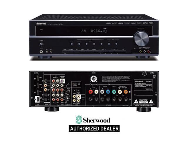 New Sherwood RD-7505 7.1 Channel Surround Sound Home Theater Receiver AVR HDMI