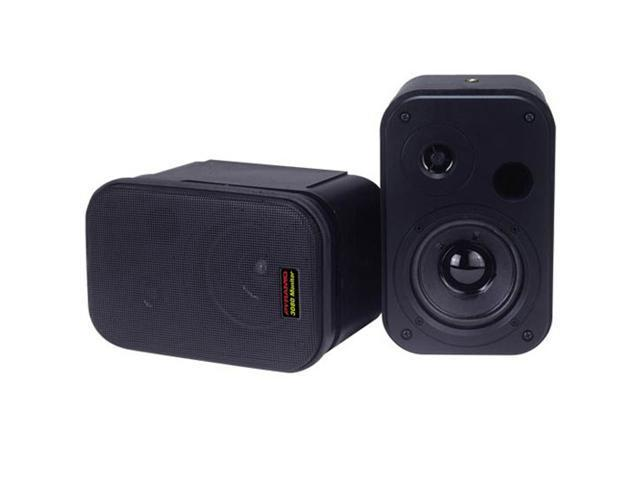 2 New PYRAMID 3080 300 Watt Home Stereo Surround Sound Speakers NR