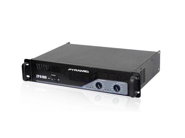 New PYRAMID ZPA100 1000W 2 Channel DJ Power Amplifier