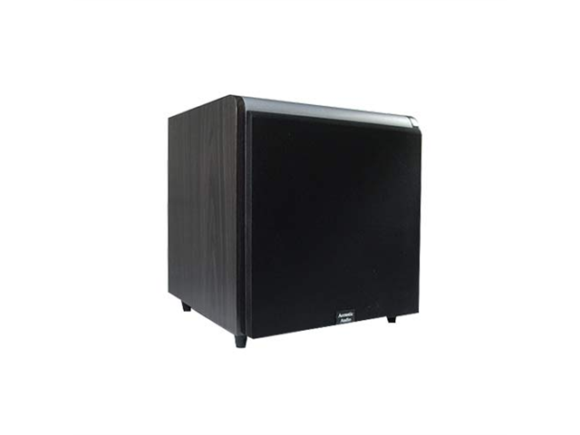 """Acoustic Audio HD-SUB10-BLACK Home Theater Powered 10"""" Subwoofer 600 Watts Black Sub"""