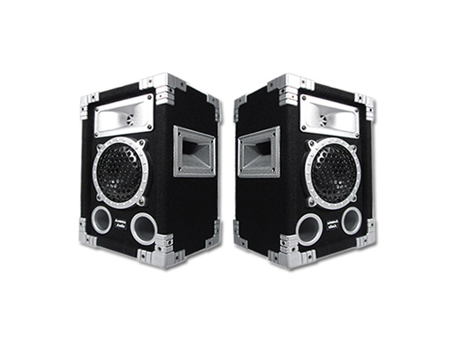 Acoustic Audio GX-350 PA Karaoke DJ Speakers 1000 Watts 2 Way Pair Home Audio