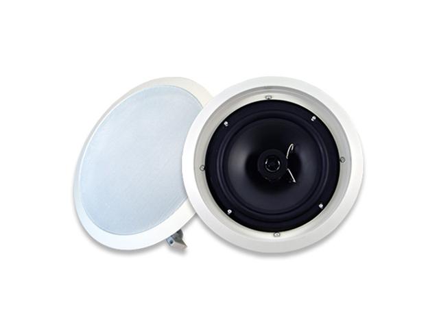 "Acoustic Audio SP8c In Ceiling 8"" Speaker 2 Way Home Theater 300 Watt New"