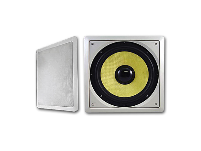 """Acoustic Audio HDS10 In-Wall/Ceiling 300 Watt 10"""" Home Theater Passive Subwoofer"""