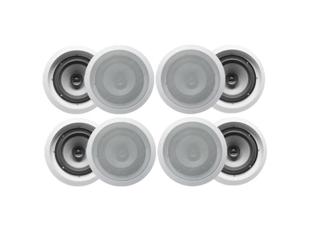 Acoustic Audio CS-IC82 In Ceiling 8" Speaker 4 Pair Pack 2400W New CS-IC82-4Pr