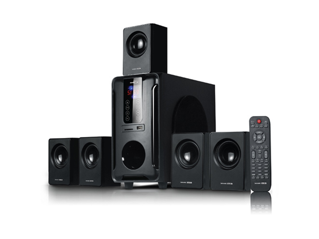Acoustic Audio AA5105 Home Theater 5.1 Surround Sound Speaker System 700 Watts