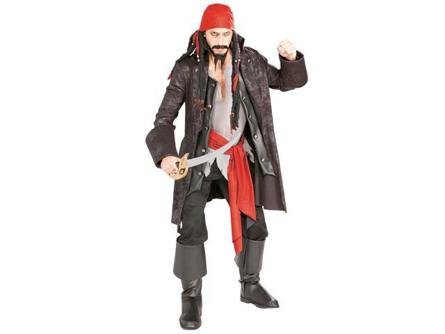 Adult Deluxe Pirate Captain Costume Rubies 16844