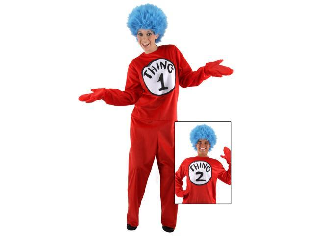 Dr. Seuss Kids Deluxe Thing1 And Thing 2 Costume Elope Costumes 400533