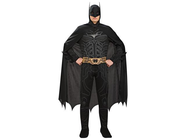 Batman Black Jumpsuit Costume Adult Large 42-44