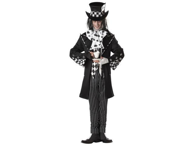 California Dark Mad Hatter Men's Costume - XL