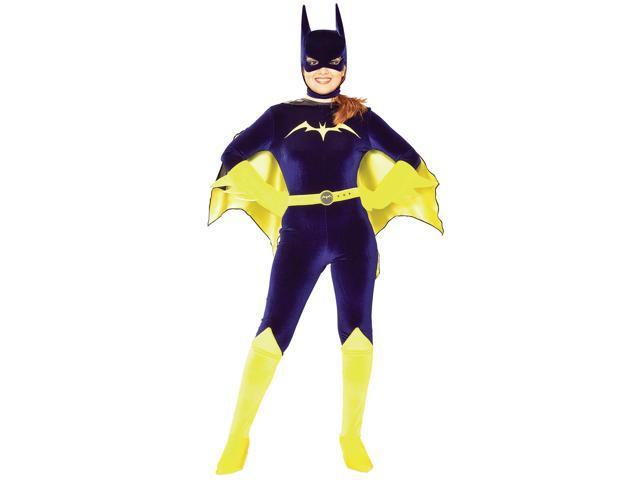 Gotham Girls Batgirl Velvet Adult Costume Medium