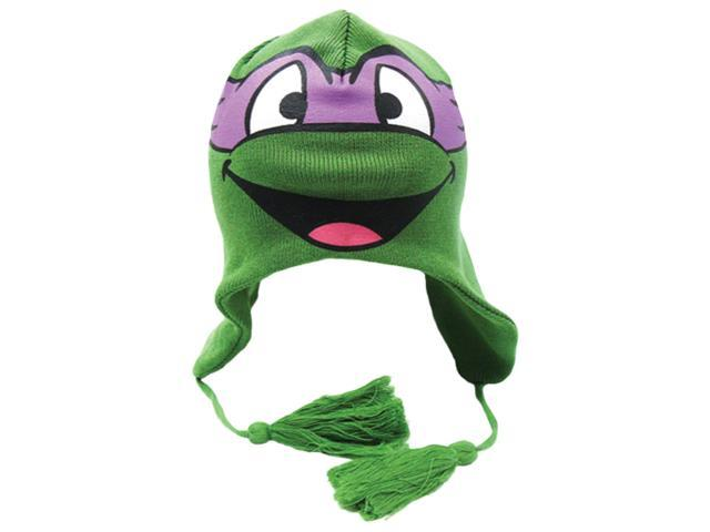 Teenage Mutant Ninja Turtle Donatello Purple Face Laplander Beanie