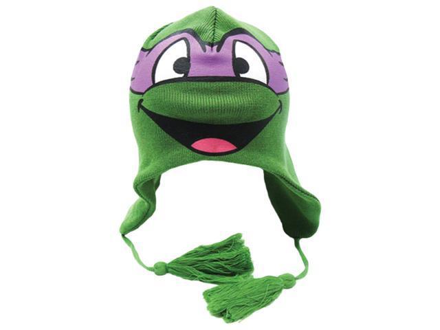 Teenage Mutant Ninja Turtle Donatello Purple Face Laplander Beanie