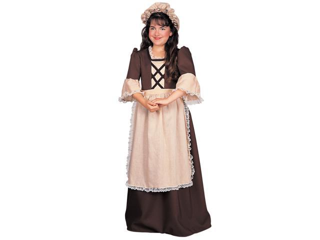 Child Colonial Girl Costume Rubies 882625