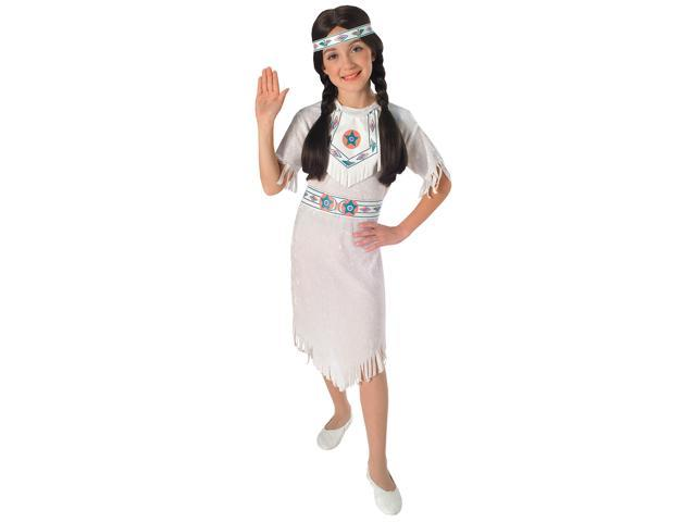 Girl's White Indian Costume Rubies 881053